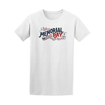 Happy Memorial Day Home Of The Brave Tee - Image by Shutterstock