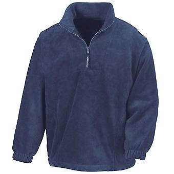 Resultado ativo Mens metade Zip casacos de lã