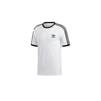 Adidas 3 Stripes Tee CW1203 evrensel tüm yıl erkek t-shirt