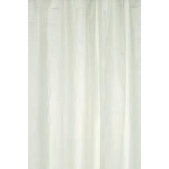 Hvit ren Peva dusj gardin 180 x 180cm