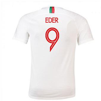 2018-2019 Portugal Away Nike Football Shirt (Eder 9)