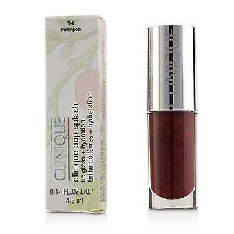 Clinique Pop Splash Lipgloss + Hydratation - # 14 fruchtig Pop - 4.3ml/0.14oz