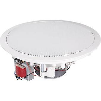 PA recessed speaker Renkforce CL-200RT 120 W 100 V White 1 pc(s)