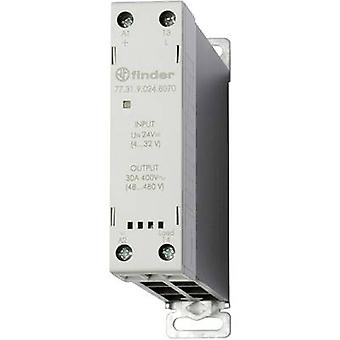 Finder SSR 77.31.9.024.8070 huidige belasting (max.): 30 A Schakelspanning (max.): 480 V AC Zero Crossing 1 PC (s)