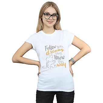Disney Frauen Dumbo folgen Sie Ihrem Traum-T-Shirt