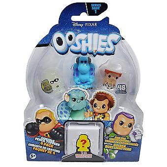 Ooshies Pixar 4 Pack Asst - vague 1 - assortiment