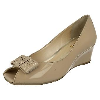 Ladies Van Dal Peep Toe Shoes Pasadena
