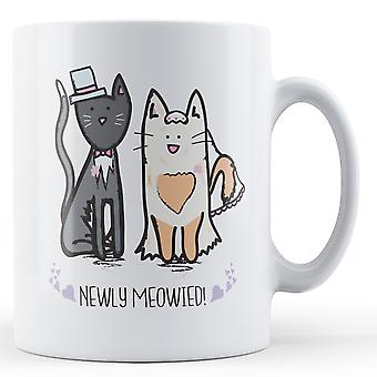 Newly Meowied! Wedding Gift - Printed Mug