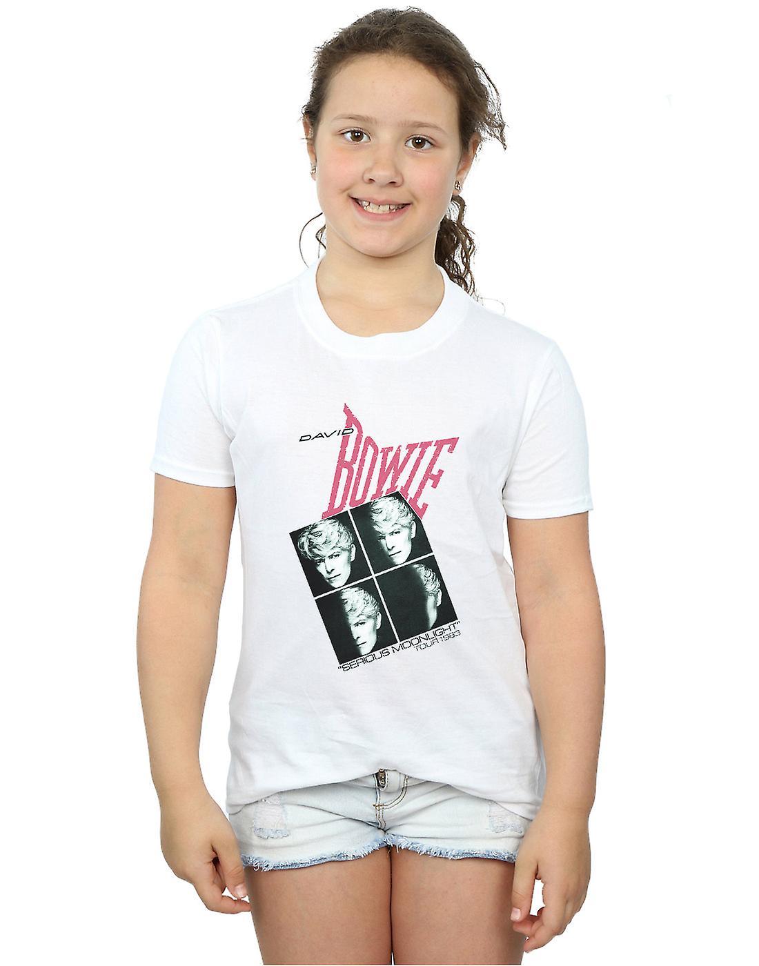 David Bowie Girls Serious Moonlight Tour 83 T-Shirt