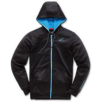 Alpinestars Freeride Zipped Hoody in Black/Blue