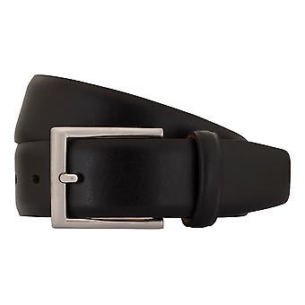 SAKLANI & FRIESE belts men's belts leather belt black 1470