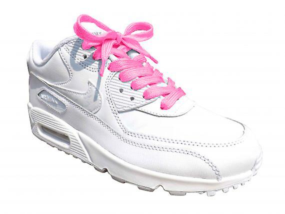 Pink Flat Trainer Laces