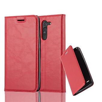 Cadorabo case for LG G3 STYLUS case case cover - mobile phone case with magnetic clasp, stand function and card compartment – Case Cover Protective case case Book Folding Style