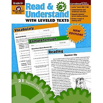 Read and Understand with Leveled Texts: Grade 6+