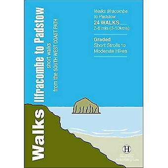 Walks Ilfracombe to Padstow: Short Walks from the South West Coast Path (Hallewell Pocket Walking Guides)