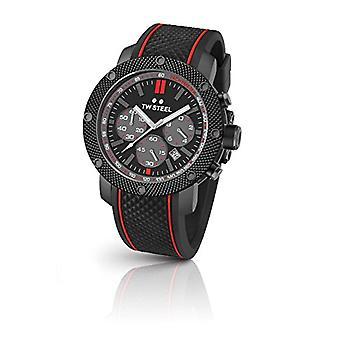 TW Steel watch chronograph quartz Silicone band Man TS6
