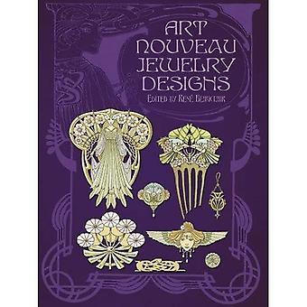 Projekty biżuterii Art Nouveau (Dover archiwum fotograficzne)