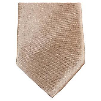 Knightsbridge halsdukar Slim Polyester Tie - Beige