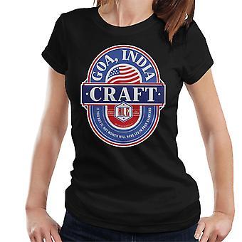 Goa India Craft Ale Women's T-Shirt