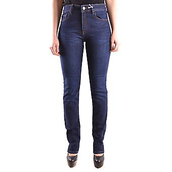 Love Moschino Ezbc061015 Naiset's Blue Cotton Jeans