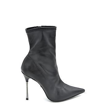 Schutz Ezbc080010 Dames's Black Leather Enkellaarzen