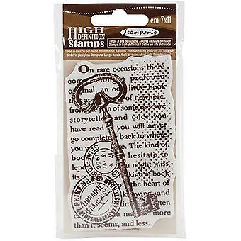 Stamperia Natural Rubber Stamp Key (WTKCC105)
