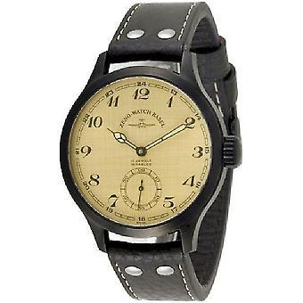 Zeno-watch mens watch OS Retro retro black 8558-6-bk-i9-num