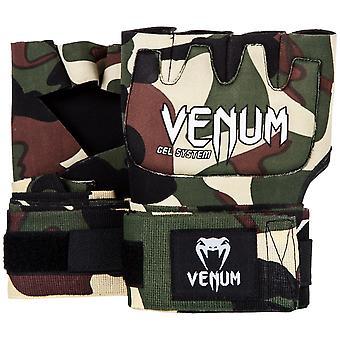 Venum Kontact gel MMA neopreno handwraps-Forest Camo-OSFA