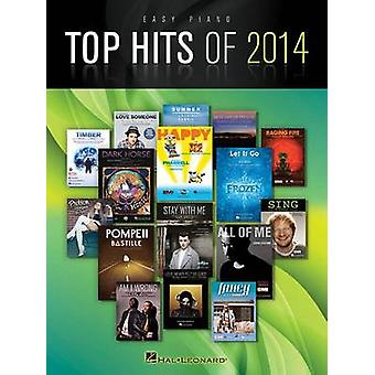 Top Hits of 2014 - Easy Piano Songbook - 9781495000928 Book