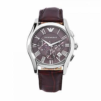 Emporio Armani Ar0671-Herre læderstrop Chrono designer Watch