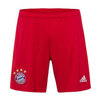2019-2020 Bayern Munich Adidas Home Shorts (Red) - Kids