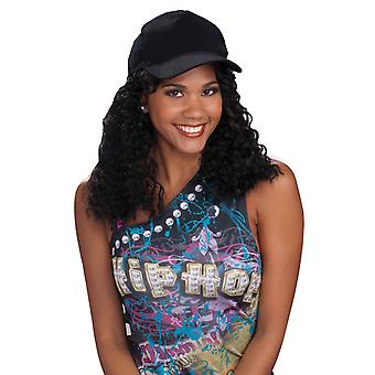 Hip Hop Girlfriend Old School 80s Dance Women Costume Wig