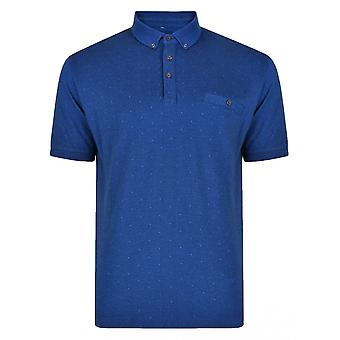 PETER GRIBBY Peter Gribby Dot Pattern Pique Polo