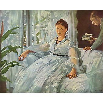 Reading, Edouard Manet, 50x40cm