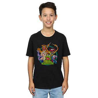Disney Boys The Muppets Group Circle T-Shirt