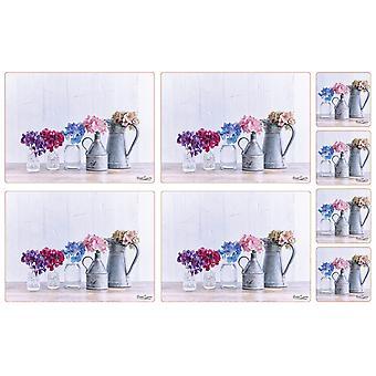 Hydrangea Collection Placemats & podstawki zestaw 4