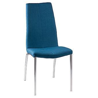 Wellindal Upholstered Metal Chair Carla (Meubilair , Stoelen , Stoelen)