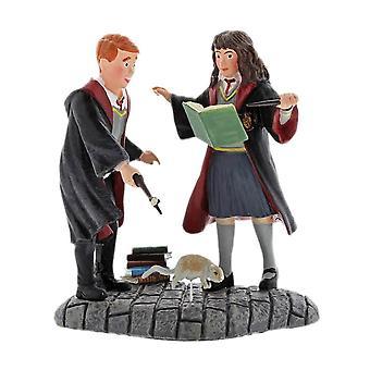 Harry Potter Hermione and Ron Wingardium Leviosa! Figurine