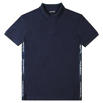 Emporio Armani Tape Logo Polo Shirt