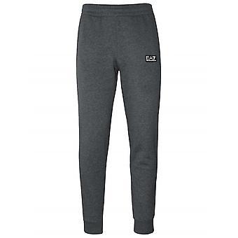 Ea7 Dark Grey Cuffed Jog Pant
