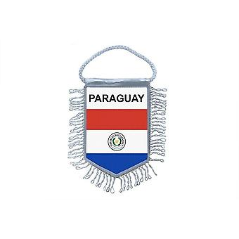 Flag Mini Flag Country Car Decoration ParaguayParaguayan