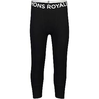 Mons Royale Shaun-Off 3/4 Leggings  - Black/White