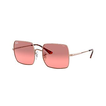Ray-Ban Square RB1971 9151AA kobber/Foto rød gradient Bordeaux solbriller