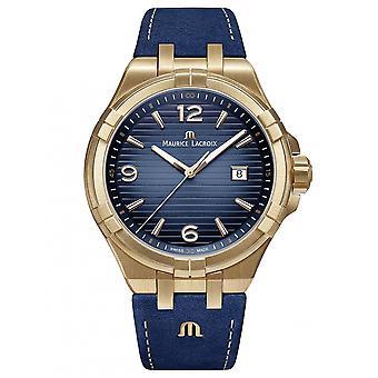 Maurice Lacroix AI1028-BRZ01-420-1 mannen ' s Limited Edition aikon polshorloge