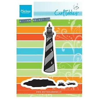 Marianne Design Craftables Tiny's LIGHTHOUSE Die, Grey