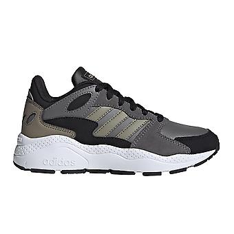 adidas CrazyChaos Kids Sports Retro Fashion Trainer Shoe Grey/Cargo