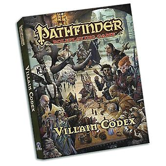 Pathfinder Roleplaying Game Villain Codex Pocket Edition - Gaming Book