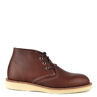 Red Wing Men's Chukka Brown Leather Boot
