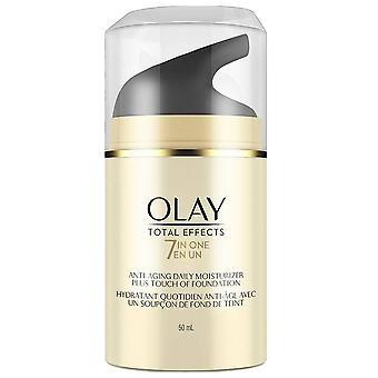 Olay total effects 7-in-1 anti-aging plus touch of foundation, 1.7 oz