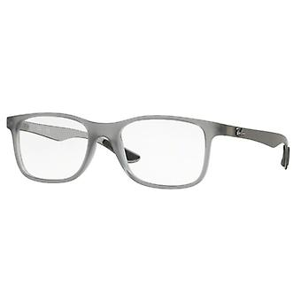 Ray-Ban RB8903 5244 Matte Transparent Grey Glasses
